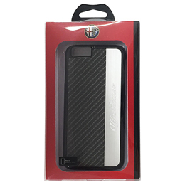 Alfa Romeo 公式ライセンス品 High Quality PC Back Cover iPhone6 用 AR-HCIP6-AR/D5-BK