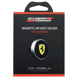Ferrari 公式ライセンス品 CAR PHONE HOLDER - Air Vent Mount - Black All devices FESCHBK