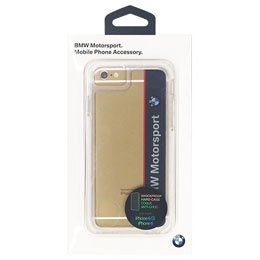 BMW 公式ライセンス品  Shockproof Case - Vertical Logo - Navy/White iPhone 6/6S BMHCP6SPVNA