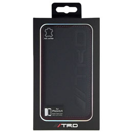 TRD 公式ライセンス品  Book type case with Embossed Logo for iPhone6/6S TRD-P47B9