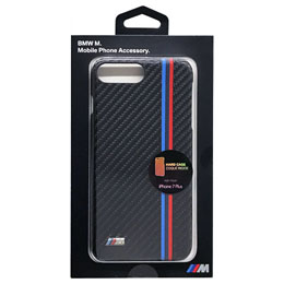 BMW iPhone7 Plus専用PUレザーハードケース PU Leather Hard case - Carbon effect BMHCP7LMC