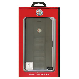 Alfa Romeo iPhone7 Plus専用スリム手帳型ケース Ultra Slim Flip Case Black AR-SSHFCIP7P-GI/D2-BK