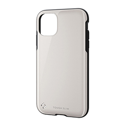 エレコム iPhone 11 TOUGH SLIM2 ホワイト PM-A19CTS2WH