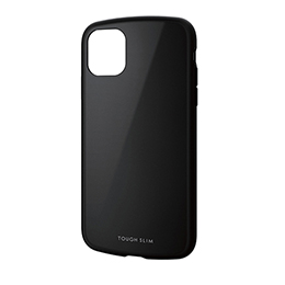 エレコム iPhone 11 TOUGH SLIM LITE ブラック PM-A19CTSLBK