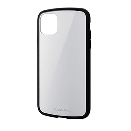 エレコム iPhone 11 TOUGH SLIM LITE ホワイト PM-A19CTSLWH