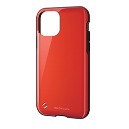 エレコム iPhone 11 Pro TOUGH SLIM2 レッド PM-A19BTS2RD