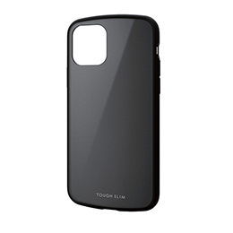 エレコム iPhone 11 Pro TOUGH SLIM LITE ブラック PM-A19BTSLBK