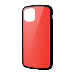 エレコム iPhone 11 Pro TOUGH SLIM LITE レッド PM-A19BTSLRD