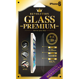 Revolution Glass iPhone6 液晶保護フィルム PREMIUM RG6PM