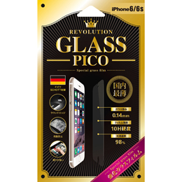 Revolution GLASS PICO 0.14 iPhone 6Sガラス保護フィルム 302811