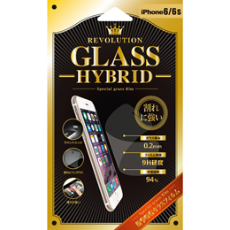 Revolution GLASS HYBRID iPhone 6Sガラス保護フィルム 302835