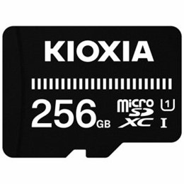 KIOXIA MicroSDカード EXERIA BASIC 256GB KMSDER45N256G
