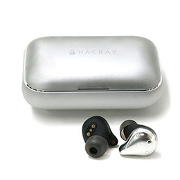HACRAY W1 True wireless earphones Sliver HR16369
