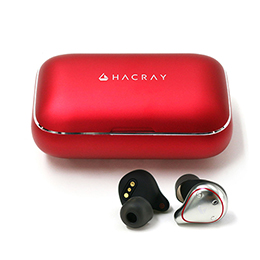 HACRAY W1 True wireless earphones Red HR16370