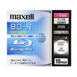 maxell BLU-RAY DISC BR25PWPC.10S